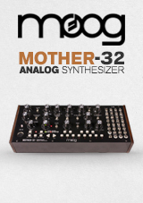 Moog Mother-32 Analog Modular Synthesizer  Moog Mother-32 Analog Modular Synthesizer  Moog Mother-32 Analog Modular Synthesizer