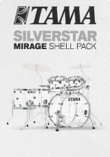 Tama Silverstar Mirage cristallo ghiaccio Ltd Edition 6Pc acrilico Shell Pack
