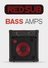 RedSub Bass Guitar Amps