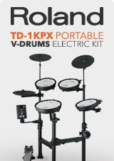 Roland TD-1KPX Portable V-Drums Electronic Drum Kit