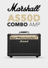 Marshall AS50D Acoustic Combo Amp, edizione limitata nero