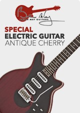 Brian May chitarra elettrica speciale, antique cherry