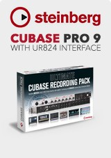 Steinberg Ultimate Cubase Recording Pack, UR824 and Cubase Pro 9