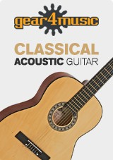 Chitarra classica 3/4, Natural, Gear4music