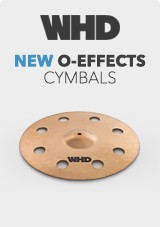 WHD New O-Effects Cymbals