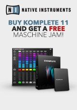 Native Instruments Buy Komplete 11 and get a FREE Maschine Jam!