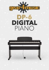 gear4music DP-6 Digital Piano