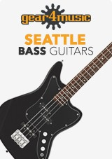 gear4music Seattle Bass Guitars