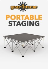 Gear4music Portable Staging