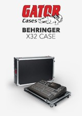 Gator G-TOUR Case for Behringer X32 Mixer