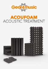Solutions de traitement acoustique AcouFoam par Gear4music